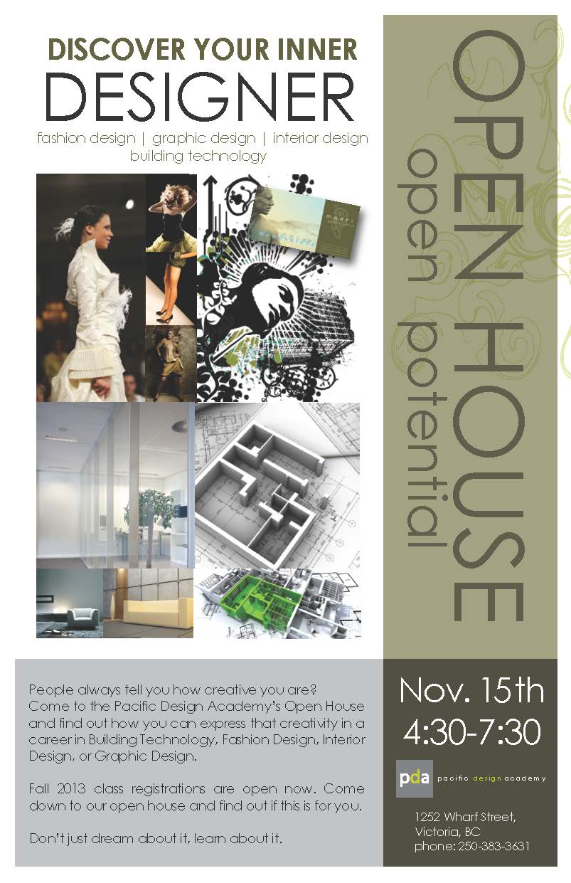 Pacific Design Academy Open House